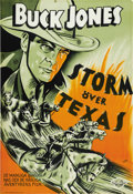 "Movie Posters:Western, Outlawed Guns (Universal, 1935). Swedish One Sheet (27.5"" X 39.5""). ..."