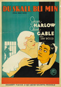 "Movie Posters:Drama, Hold Your Man (MGM, 1933). Swedish One Sheet (27.5"" X 39.5"").Drama.. ..."