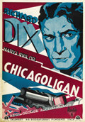 "Movie Posters:Crime, Shooting Straight (RKO, 1930). Swedish One Sheet (27.5"" X 39.5"")...."