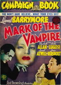 "Movie Posters:Horror, Mark of the Vampire (MGM, 1935). Pressbook (17 pages) (14"" X19.5""). ..."