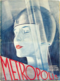 "Movie Posters:Science Fiction, Metropolis (UFA, 1927). German Pressbook (9"" X 12"") (28 pages). ..."