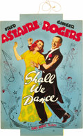 "Movie Posters:Musical, Shall We Dance (RKO, 1937). Promotional Hanger (12.5"" X 18.5""). ..."