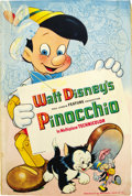 "Movie Posters:Animated, Pinocchio (RKO, 1940). Pressbook (12"" X 18"", 66 Pages)...."