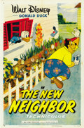 "Movie Posters:Animated, The New Neighbor (RKO, 1953). One Sheet (27"" X 41"")...."