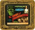 "Movie Posters:Horror, The Bride of Frankenstein (Universal, 1935). Glass Slide (3.25"" X4"")...."