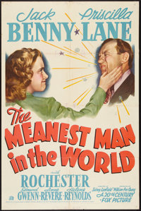 """The Meanest Man in the World (20th Century Fox, 1942). One Sheet (27"""" X 41""""). Comedy"""