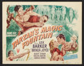 "Movie Posters:Adventure, Tarzan's Magic Fountain (RKO, 1949). Lobby Card Set of 8 (11"" X14""). Adventure.. ... (Total: 8 Items)"