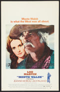 """Movie Posters:Western, Monte Walsh Lot (National General, 1970). Window Cards (2) (14"""" X22""""). Western.. ... (Total: 2 Items)"""
