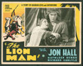 "Movie Posters:Adventure, The Lion Man (United Screen Associates, 1936). Lobby Cards (10)(11"" X 14""). Adventure.. ... (Total: 10 Items)"