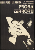 """Movie Posters:Thriller, Experiment in Terror (CWF, 1971). Polish One Sheet (22.5"""" X 32.5""""). Thriller.. ..."""