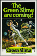"""Movie Posters:Science Fiction, The Green Slime (MGM, 1969). One Sheet (27"""" X 41""""). Science Fiction.. ..."""