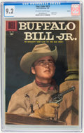 Golden Age (1938-1955):Western, Four Color #673 Buffalo Bill Jr. (#1) Circle 8 pedigree (Dell, 1956) CGC NM- 9.2 Off-white to white pages....