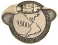 Transportation:Space Exploration, Apollo 7 Flown Silver Robbins Medallion Originally from thePersonal Collection of Mission Support Crew Member Ron Evans,Seri...