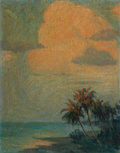 Mainstream Illustration, FRANK STICK (American, 1884-1966). Long Key, 1922. Oil onboard. 15 x 12 in.. Signed lower right. ...