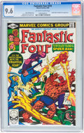 Modern Age (1980-Present):Superhero, Fantastic Four CGC-Graded Group (Marvel, 1977-83).... (Total: 3Comic Books)