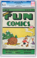 Platinum Age (1897-1937):Miscellaneous, More Fun Comics #19 (DC, 1937) CGC VG+ 4.5 Cream to off-whitepages....