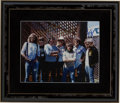 Music Memorabilia:Autographs and Signed Items, The Eagles Band-Signed Photo....