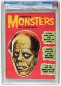 Magazines:Horror, Famous Monsters of Filmland #3 (Warren, 1959) CGC VF- 7.5 Off-white pages....