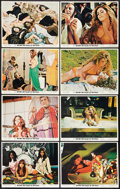 "Movie Posters:Sexploitation, Beyond the Valley of the Dolls (20th Century Fox, 1970). Lobby CardSet of 8 (11"" X 14""). Sexploitation.. ... (Total: 8 Items)"