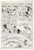 Original Comic Art:Panel Pages, John Romita Sr. and Frank Giacoia Daredevil #18 page 18Original Art (Marvel, 1966)....