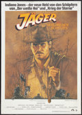 "Movie Posters:Adventure, Raiders of the Lost Ark (Paramount, 1981). German A0 (33"" X 47""). Adventure.. ..."
