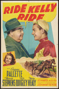 "Movie Posters:Sports, Ride, Kelly, Ride (20th Century Fox, 1941). One Sheet (27"" X 41""). Sports.. ..."