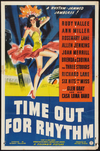 "Time Out for Rhythm (Columbia, 1941). One Sheet (27"" X 41""). Comedy"
