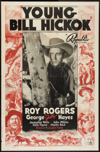 "Young Bill Hickok (Republic, 1940). One Sheet (27"" X 41""). Western"
