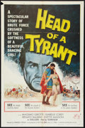 """Movie Posters:Adventure, Head of a Tyrant Lot (Universal International, 1960). One Sheets(2) (27"""" X 41""""). Adventure.. ... (Total: 2 Items)"""