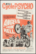 "Movie Posters:Action, Angels from Hell (American International, 1968). One Sheet (27"" X 41""). Action.. ..."