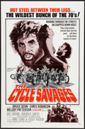 """Movie Posters:Action, The Cycle Savages (Trans American, 1970). One Sheet (27"""" X 41""""). Action.. ..."""