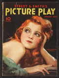 """Movie Posters:Miscellaneous, Picture Play (Street & Smith, 1932). Magazine (Multiple Pages, 8.5"""" X 11.5""""). Miscellaneous.. ..."""