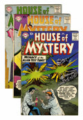 Silver Age (1956-1969):Horror, House of Mystery Group (DC, 1958-64) Condition: Average FN....(Total: 10 Comic Books)