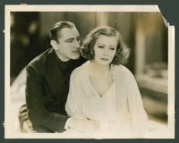 "Greta Garbo in ""Grand Hotel"" Lot (MGM, 1932). Stills (9) (8"" X 10"") and Lobby Cards (9) (8"" X 1..."