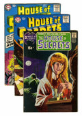 Silver Age (1956-1969):Mystery, House of Secrets Group (DC, 1957-71) Condition: Average VG....(Total: 10 Comic Books)