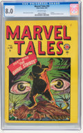 Golden Age (1938-1955):Horror, Marvel Tales #93 (Atlas, 1949) CGC VF 8.0 Off-white pages....