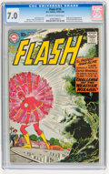 Silver Age (1956-1969):Superhero, The Flash #110 (DC, 1959) CGC FN/VF 7.0 Off-white to white pages....
