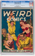 Golden Age (1938-1955):Horror, Weird Comics #4 (Fox Features Syndicate, 1940) CGC VF- 7.5 Lighttan to off-white pages....
