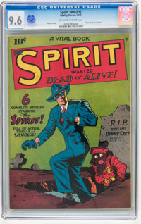 The Spirit #nn (#1) (Quality, 1944) CGC NM+ 9.6 Off-white to white pages