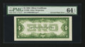 Error Notes:Inverted Reverses, Fr. 1606 $1 1934 Inverted Reverse Silver Certificate. PMG ChoiceUncirculated 64 EPQ.. ...