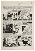 "Original Comic Art:Panel Pages, Graham Ingels Haunt of Fear #20 ""Thump Fun"" page 5 OriginalArt (EC, 1953)...."