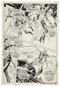 Original Comic Art:Panel Pages, Neal Adams and Tom Palmer X-Men #61 page 11 Original Art(Marvel, 1969)....