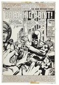 Original Comic Art:Splash Pages, Gil Kane and Klaus Janson Daredevil #147 Splash Page 1Original Art (Marvel, 1978)....