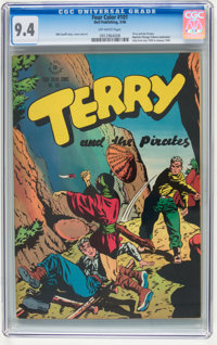 Four Color #101 Terry and the Pirates (Dell, 1946) CGC NM 9.4 Off-white pages