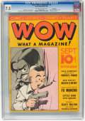 Platinum Age (1897-1937):Miscellaneous, Wow Comics #3 Lost Valley pedigree (Henle, 1936) CGC VF- 7.5Off-white to white pages....