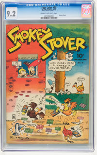 Four Color #35 Smokey Stover (Dell, 1944) CGC NM- 9.2 Cream to off-white pages