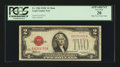 Small Size:Legal Tender Notes, Fr. 1504 $2 1928C Mule Legal Tender Note. PCGS Apparent Very Fine 20.. ...