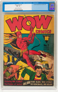 Golden Age (1938-1955):Superhero, Wow Comics #2 (Fawcett, 1941) CGC FN- 5.5 Cream to off-white pages....