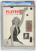Magazines:Miscellaneous, Playboy #1 Page 3 Copy (HMH Publishing, 1953) CGC VG- 3.5 Off-whiteto white pages....