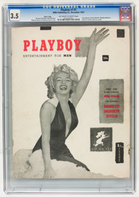 Playboy #1 Page 3 Copy (HMH Publishing, 1953) CGC VG- 3.5 Off-white to white pages